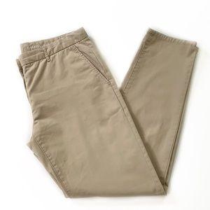 Gap • Broken In Straight Leg Khakis